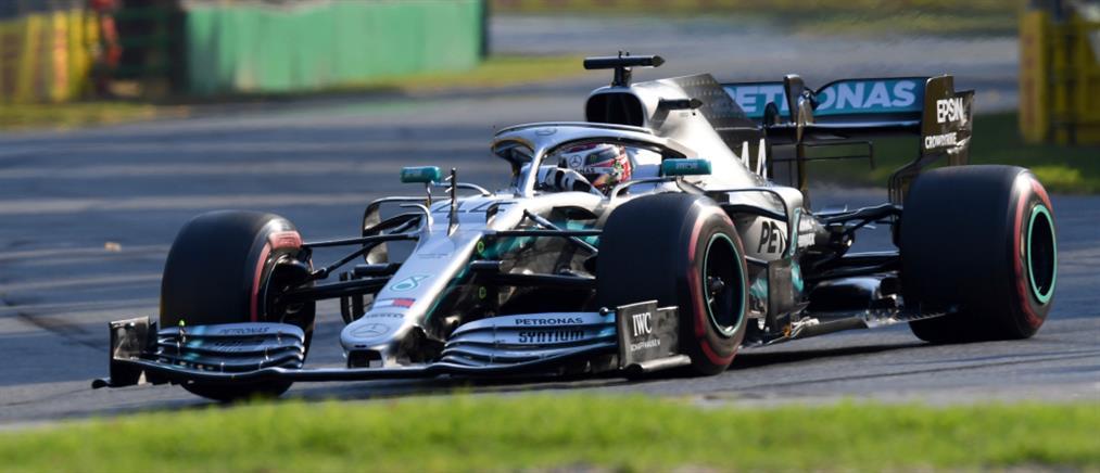 GP Αυστραλίας: Ο Χάμιλτον πήρε την πρώτη pole position της σεζόν