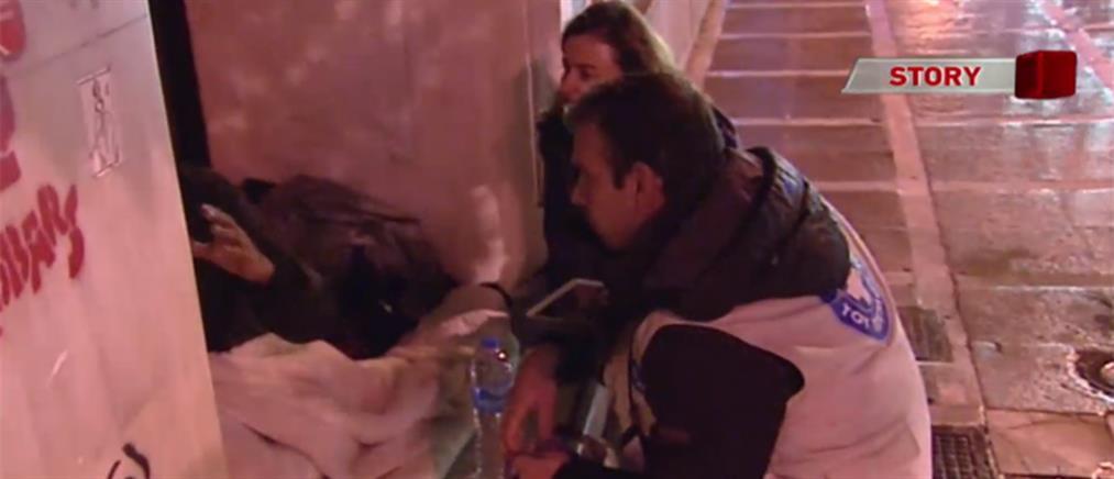Έρευνα ΑΝΤ1: Ραγδαία αύξηση των αστέγων στην Αθήνα (βίντεο)