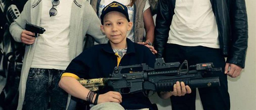 Πέθανε ο 13χρονος ΟΥΚας - Θρήνος στις Ειδικές Δυνάμεις