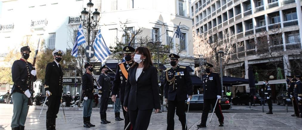 ΠτΔ για Εθνικό Ύμνο: το ΓΕΕΘΑ σχεδίασε την εκδήλωση στην Μητρόπολη