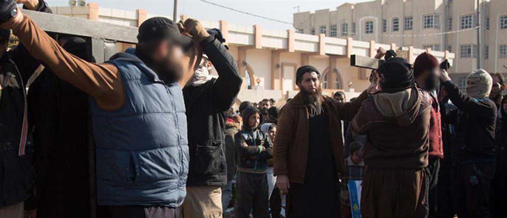 Σοκ: τζιχαντιστές σταύρωσαν δημόσια δυο άντρες