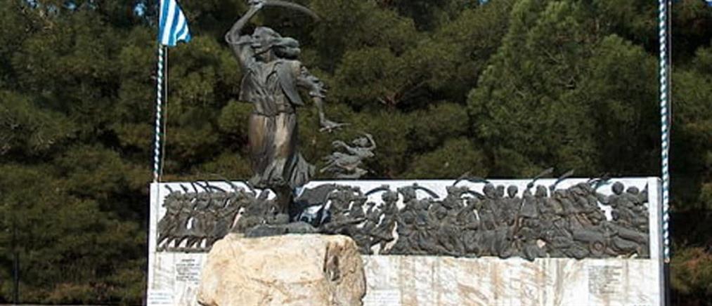 Λεηλάτησαν το μνημείο του καπετάν Χάψα (εικόνες)