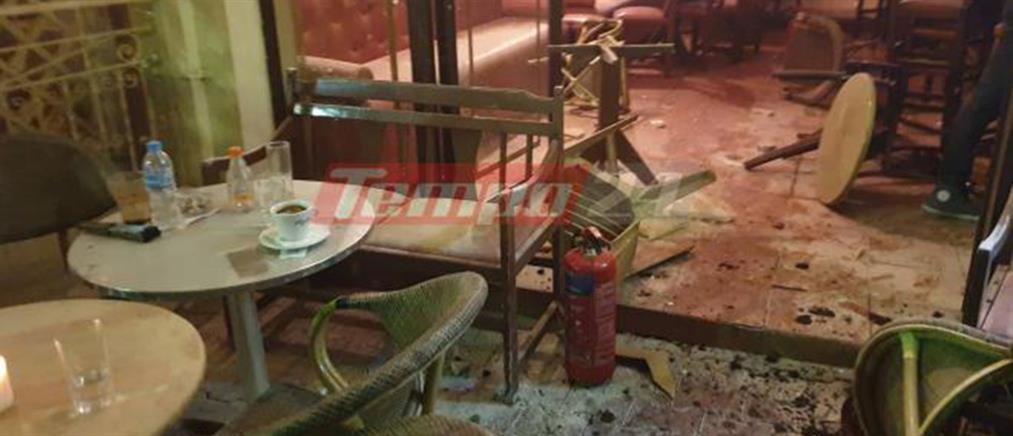 """Κρανοφόροι τα έκαναν """"γυαλιά – καρφιά"""" σε καφετέρια (εικόνες)"""