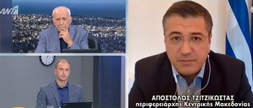 Τζιτζικώστας για κορονοϊό στον ΑΝΤ1: μέτρα τώρα για να αποφύγουμε το lockdown (βίντεο)