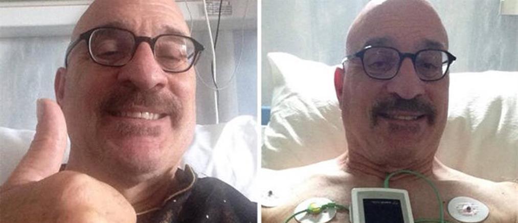 Εσπευσμένα στο νοσοκομείο ο Τζώνυ Βαβούρας (εικόνες)