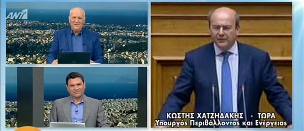 Χατζηδάκης στον ΑΝΤ1: βασική προτεραιότητα ένα σχέδιο σωτηρίας της ΔΕΗ (βίντεο)