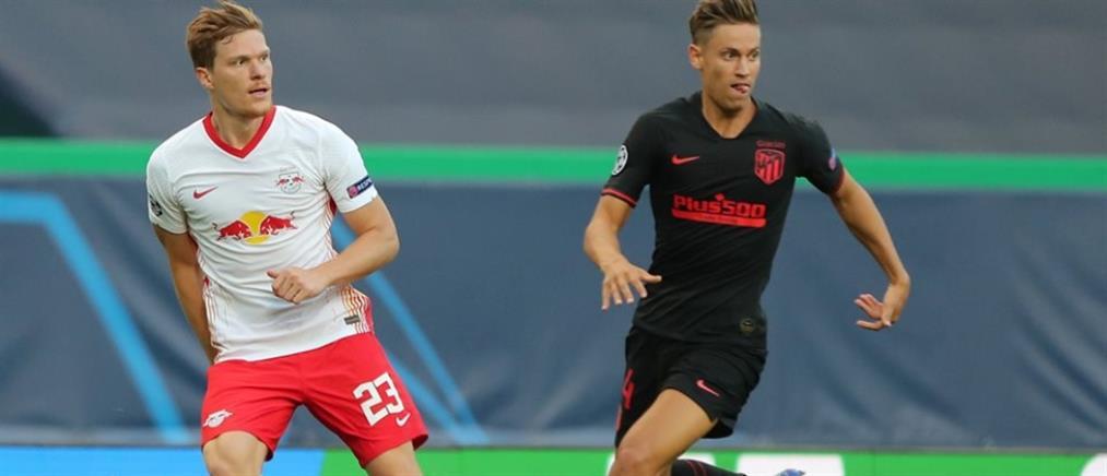 Champions League: η Λειψία απέκλεισε την Ατλέτικο Μαδρίτης