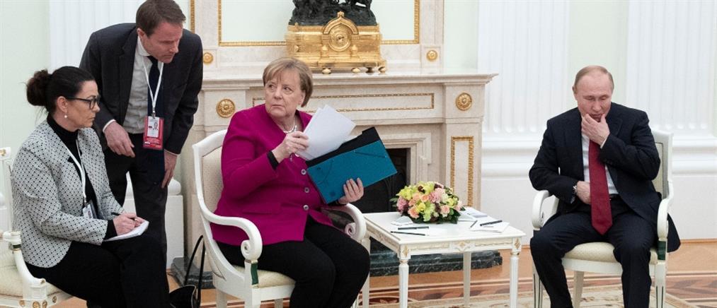 Μέρκελ - Πούτιν: ήρθε η ώρα για ειρήνη στην Λιβύη