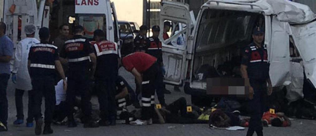 Πολύνεκρο δυστύχημα με μετανάστες στην Αδριανούπολη