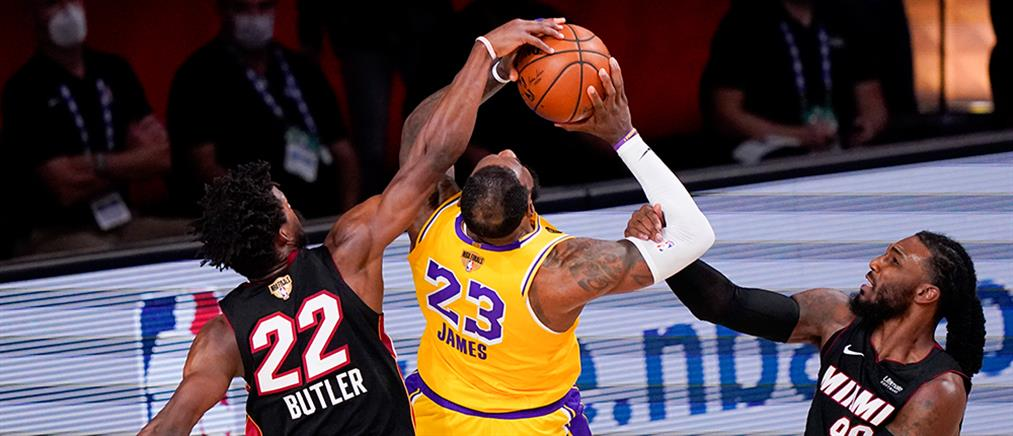 "NBA: Οι Λέικερς μία ""ανάσα"" από το πρωτάθλημα (βίντεο)"