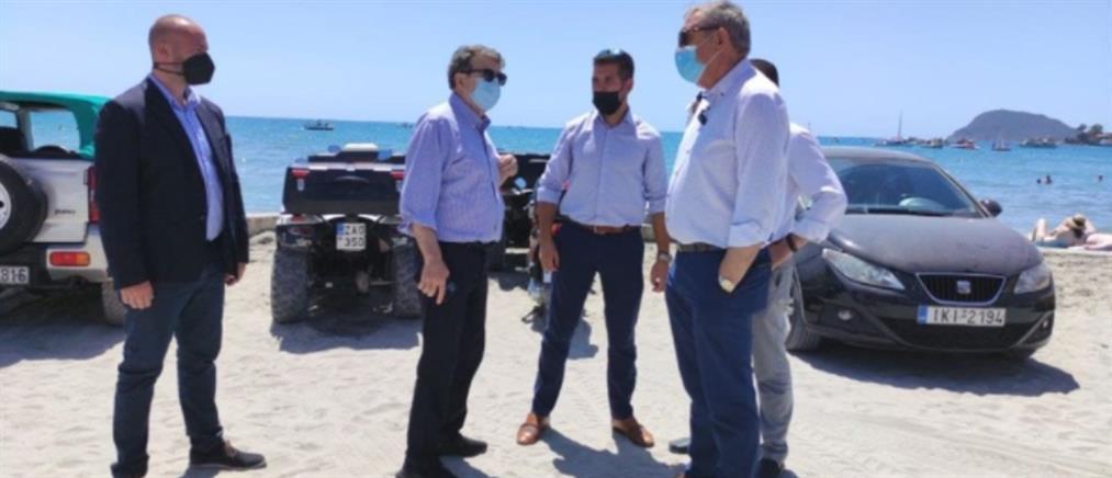 Χρυσοχοΐδης από Ζάκυνθο: απόφασή μας η δίωξη του εγκλήματος στο νησί