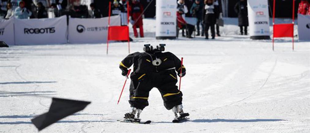 Ρομπότ σκιέρ… στους Χειμερινούς Ολυμπιακούς Αγώνες (βίντεο)
