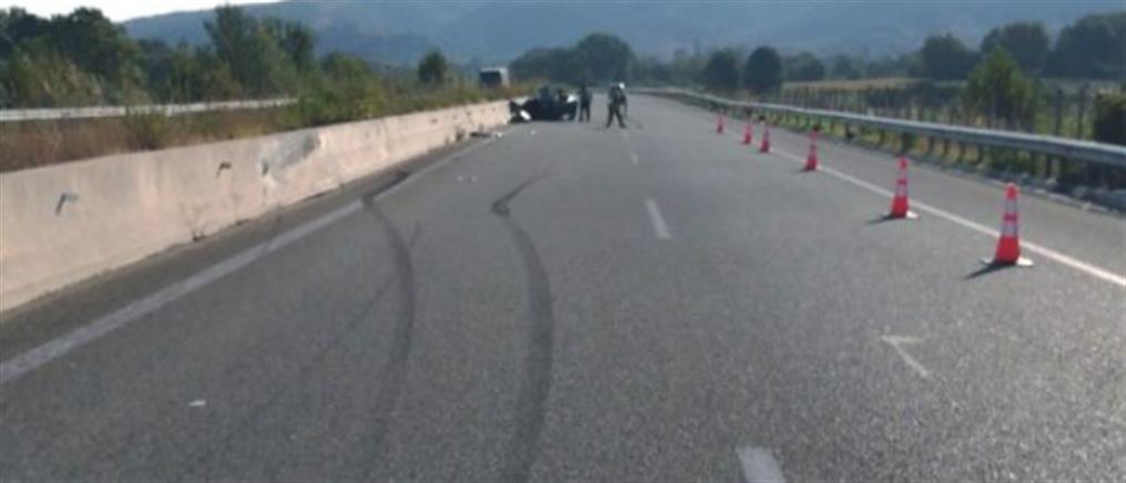 Νεκρός 16χρονος σε τροχαίο στην Εγνατία Οδό (εικόνες)