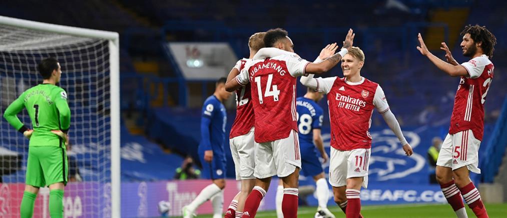 Premier League: η Άρσεναλ νίκησε την Τσέλσι και ελπίζει