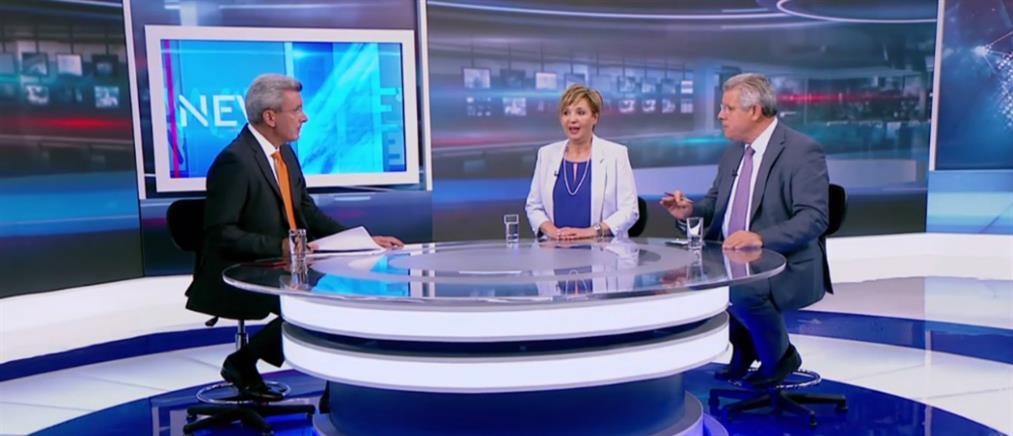Γεροβασίλη – Βλάχος στον ΑΝΤ1 για τις πρόωρες εκλογές (βίντεο)