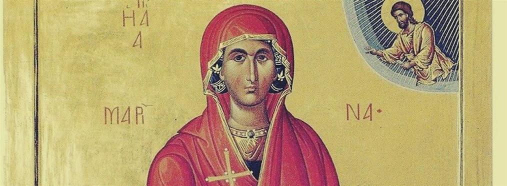 Αγία Μαρίνα: Πώς ταπείνωσε τον διάβολο