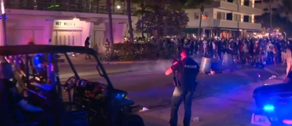"""Μαϊάμι: Απαγόρευση κυκλοφορίας και μάχες με """"ξέφρενους"""" τουρίστες (εικόνες)"""