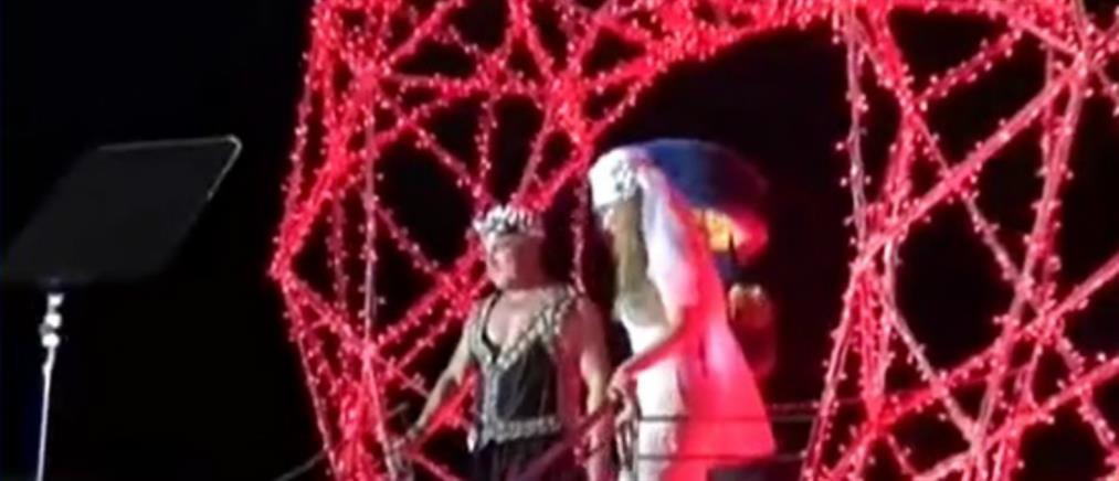 Ρωμαϊκή χλιδή σε πάρτι μεγιστάνα στη Μύκονο (βίντεο)