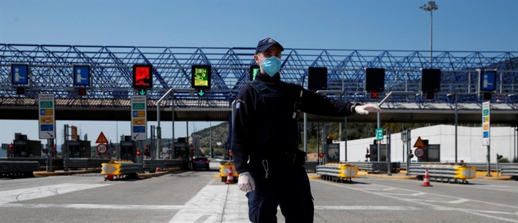 Κορονοϊός: Δεκάδες συλλήψεις για παραβίαση των μέτρων