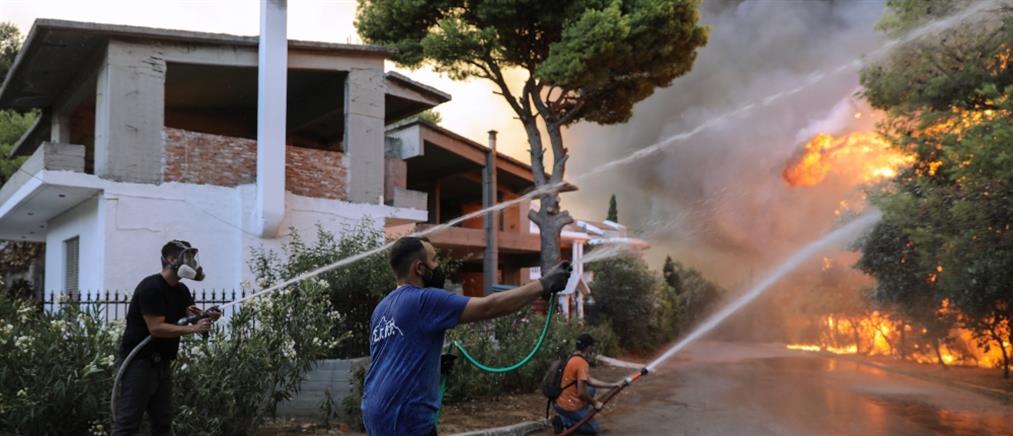 Φωτιές: πρώτες βοήθειες σε δεκάδες πολίτες και πυροσβέστες