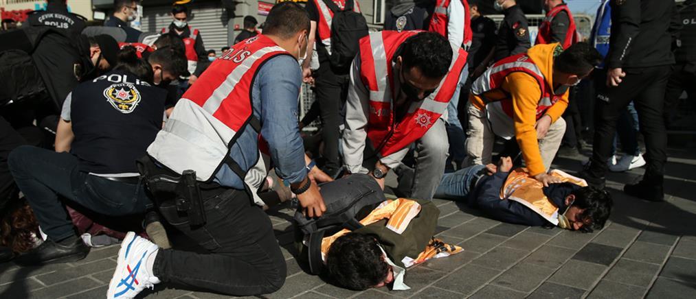 Πρωτομαγιά - Τουρκία: Επεισόδια και συλλήψεις (εικόνες)