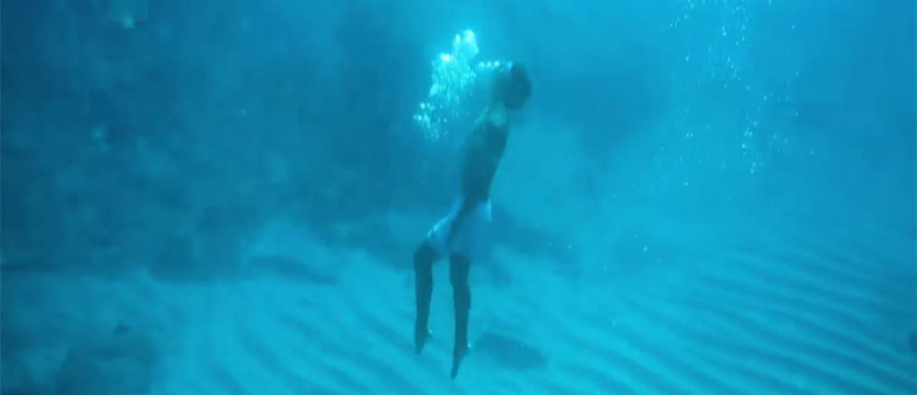 """Βίντεο """"μαγεία"""" από τις παραλίες τα Κρήτης (βίντεο)"""