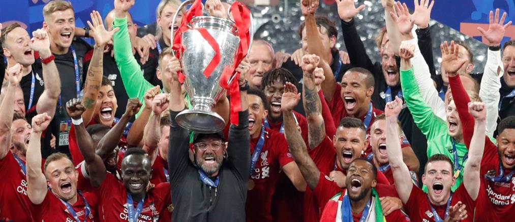 Champions League: Ξέφρενοι πανηγυρισμοί για την Λίβερπουλ (εικόνες)
