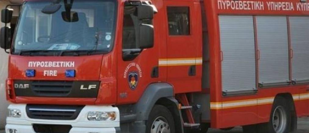 Ανατροπή πυροσβεστικού οχήματος εν ώρα άσκησης