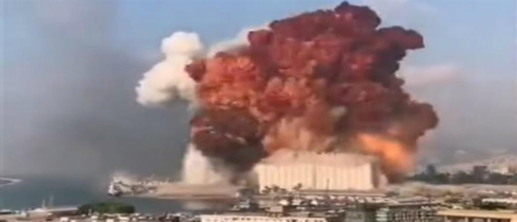 Ισχυρότατη έκρηξη συγκλόνισε τη Βηρυτό (βίντεο-ντοκουμέντο)