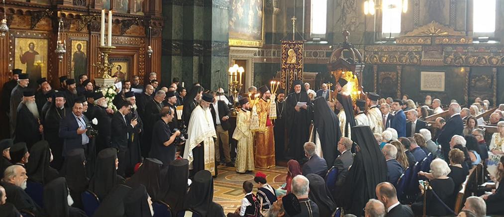 Με λαμπρότητα η ενθρόνιση του Αρχιεπισκόπου Θυατείρων και Μεγάλης Βρετανίας (βίντεο)