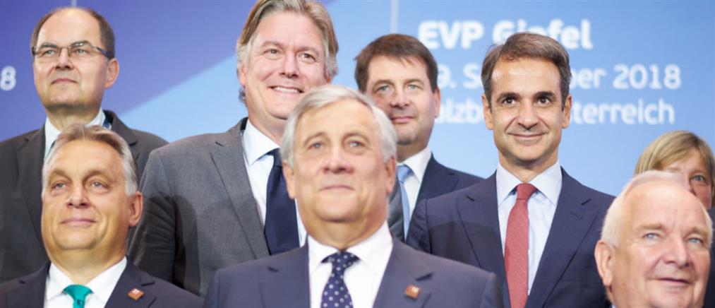"""Ευρω-""""πυρά"""" Mητσοτάκη κατά Τσίπρα για το μεταναστευτικό"""