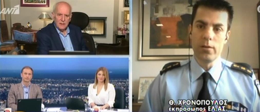 Χρονόπουλος στον ΑΝΤ1: Προσοχή στις απάτες με e-mail και στα ΑΤΜ (βίντεο)