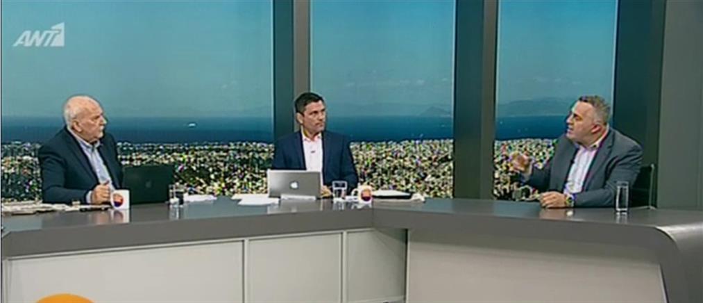 """Μαυροειδάκος στον ΑΝΤ1: δεν υπάρχει πολιτική βούληση να λυθεί το θέμα των """"μπαχαλάκηδων"""" (βίντεο)"""