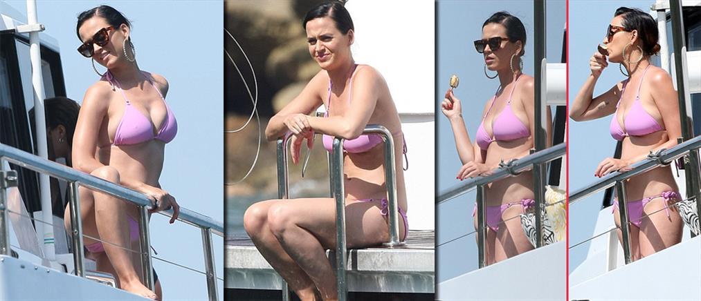 Η Katy Perry με μπικίνι χωρίς… ρετούς