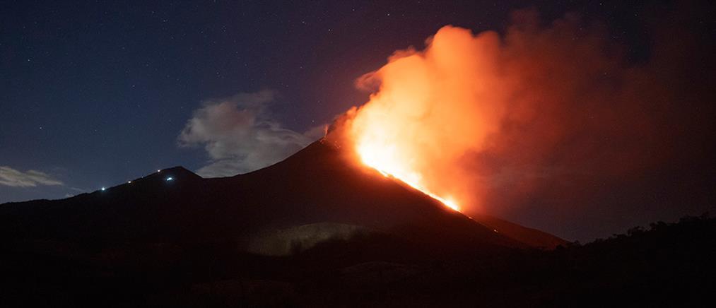 """Γουατεμάλα: """"Συναγερμός"""" από ηφαίστειο (βίντεο)"""