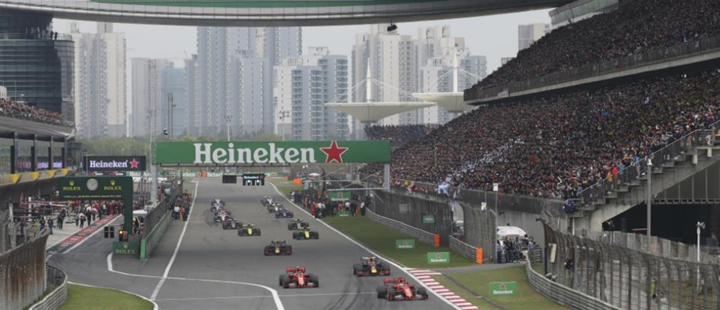 Ο κορονοϊός βάζει…. φρένο στο κινεζικό γκραν πρι της F1