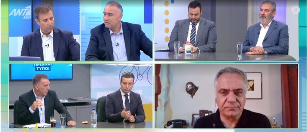 Ο Σκουρλέτης στον ΑΝΤ1 για τα ελληνοτουρκικά και τη χρηματοδότηση των ΜΜΕ