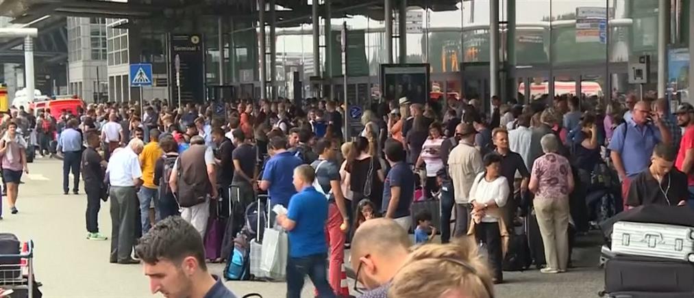 Χάος από μπλακάουτ στο αεροδρόμιο του Αμβούργου (βίντεο)
