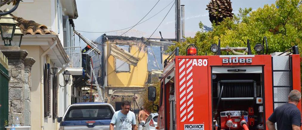 Τραγωδία στη Λακωνία: γυναίκα κάηκε ζωντανή μέσα στο σπίτι της
