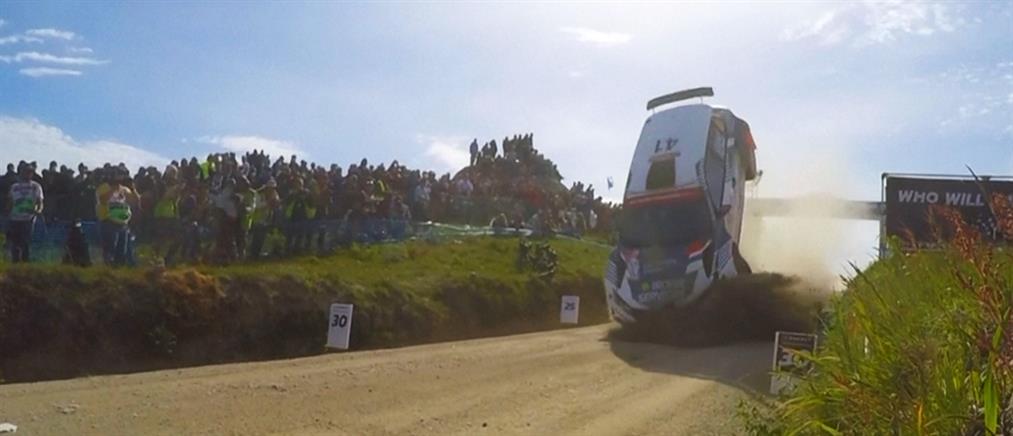 Ράλι Πορτογαλίας: ο οδηγός που τερμάτισε με… τούμπες (βίντεο)