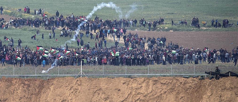 """Γάζα: νεκροί και τραυματίες στη """"Μεγάλη πορεία για την επιστροφή"""" (βίντεο)"""