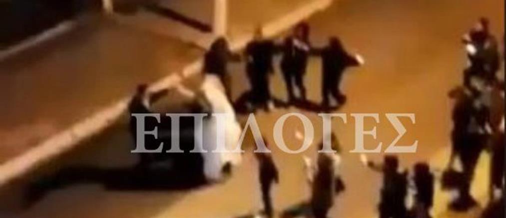"""""""Έστησαν"""" γλέντι γάμου στο δρόμο (βίντεο)"""