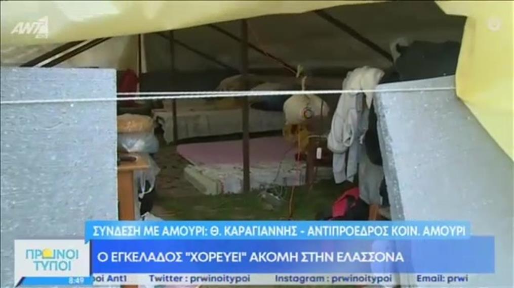 Κακές συνθήκες διαβίωσης στο Αμούρι Ελασσόνας