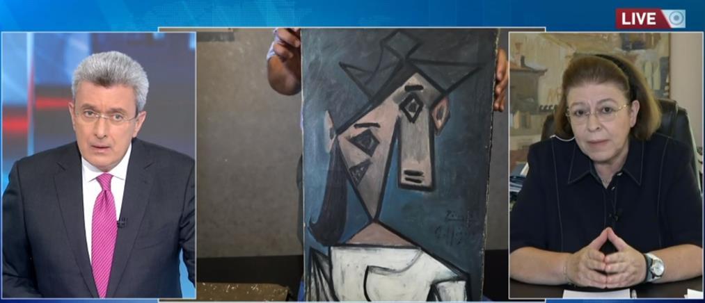 Εθνική Πινακοθήκη - Μενδώνη: κακώς έπεσε ο πίνακας του Πικάσο, αλλά δεν ήταν ντεκόρ