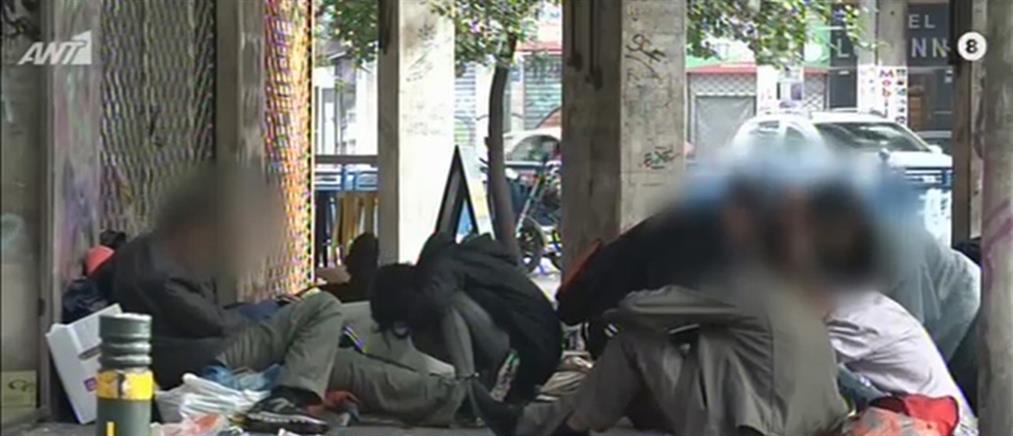 """Έρευνα ΑΝΤ1: Γκέτο… ανομίας στην """"καρδιά"""" της Αθήνας (βίντεο)"""