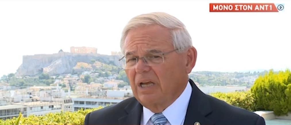 Μενέντεζ στον ΑΝΤ1: Θα ενισχύσουμε την Ελλάδα σε κρίσιμα ζητήματα (βίντεο)
