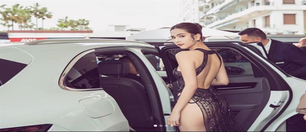 """Μοντέλο """"καταζητείται"""" για την σέξι εμφάνισή της στο Φεστιβάλ Καννών (εικόνες)"""