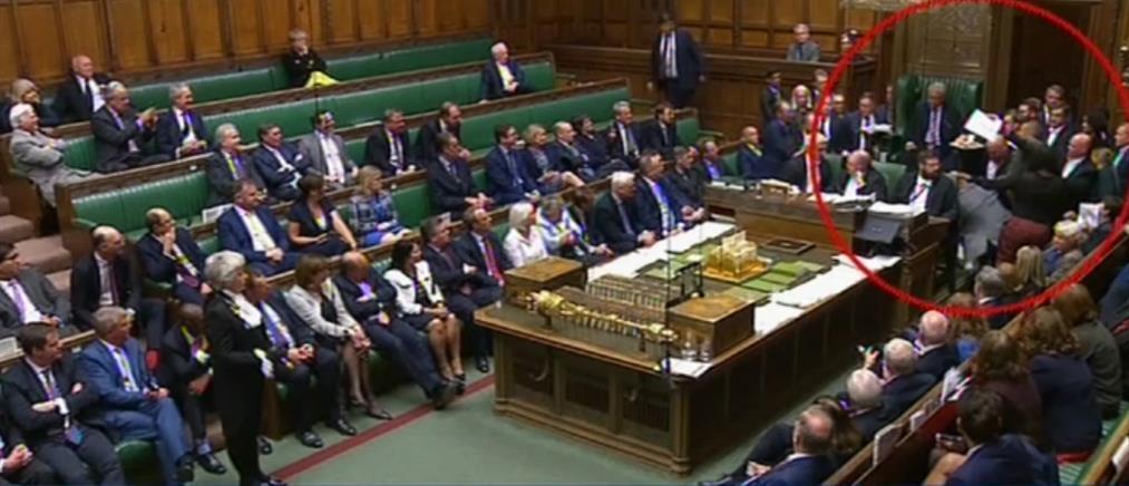 """""""Αρένα"""" η βρετανική Βουλή, ανένδοτος για το Brexit ο Μπόρις Τζόνσον (βίντεο)"""