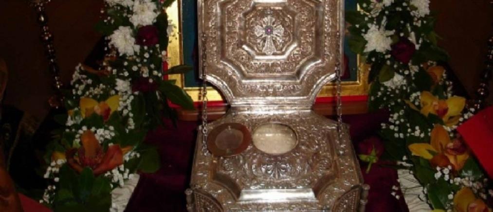 Υποδοχή της Τίμιας Κάρας του Αγίου Ραφαήλ στη Θεσσαλονίκη