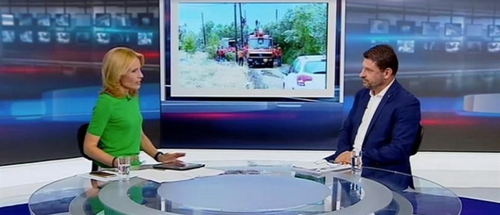 Ο ΓΓ Πολιτικής Προστασίας στον ΑΝΤ1: στοίχημά μας η επούλωση των πληγών από την κακοκαιρία  (βίντεο)